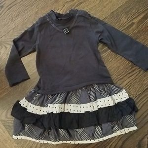 Girls Eliane et Lena dress, size 18m.